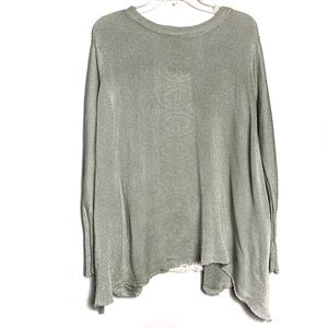 Altar'd State Oversized Green Sweater Sz S B-59